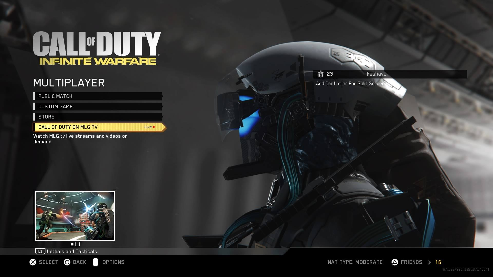 esports live event viewer now live in infinite warfare on. Black Bedroom Furniture Sets. Home Design Ideas