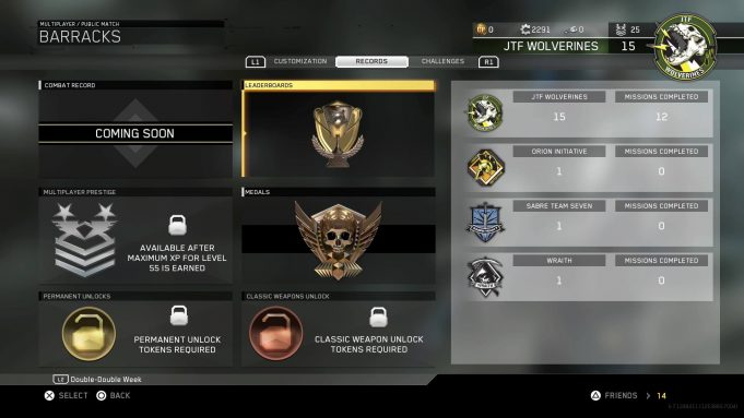 Leaderboards for Call of Duty: Infinite Warfare MP are now ... | 681 x 383 jpeg 42kB