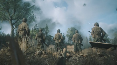 First low res in game images from call of duty wwii - Cod ww2 4k pc ...