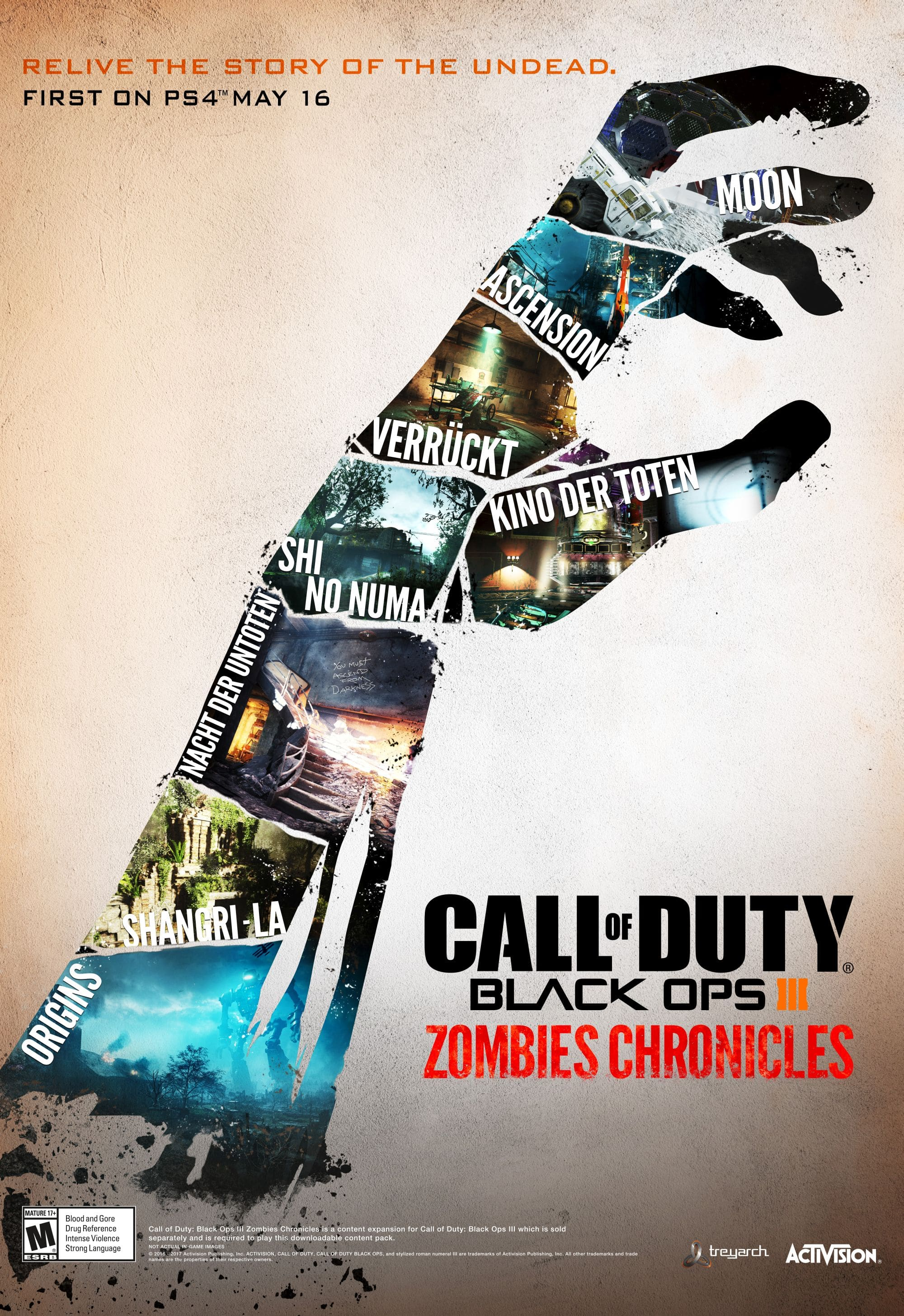 Call of Duty®: Black Ops III Zombies Chronicles (PC/ENG/2017)