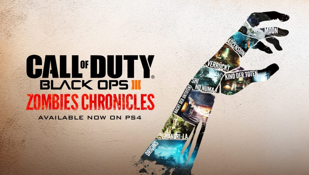 Call of Duty: Black Ops 3 Zombies Chronicles available now