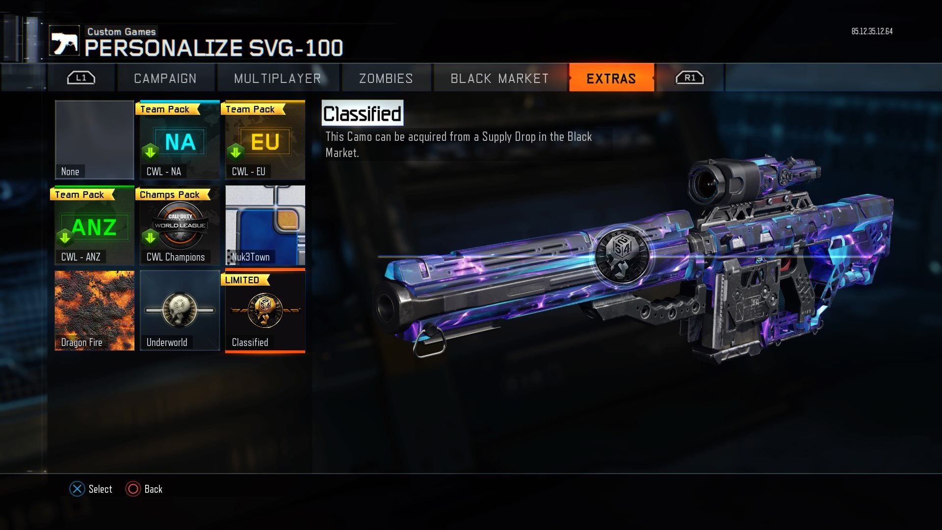 Ak74u M1911 And New Limited Edition Camo Now Live In Black Ops 3