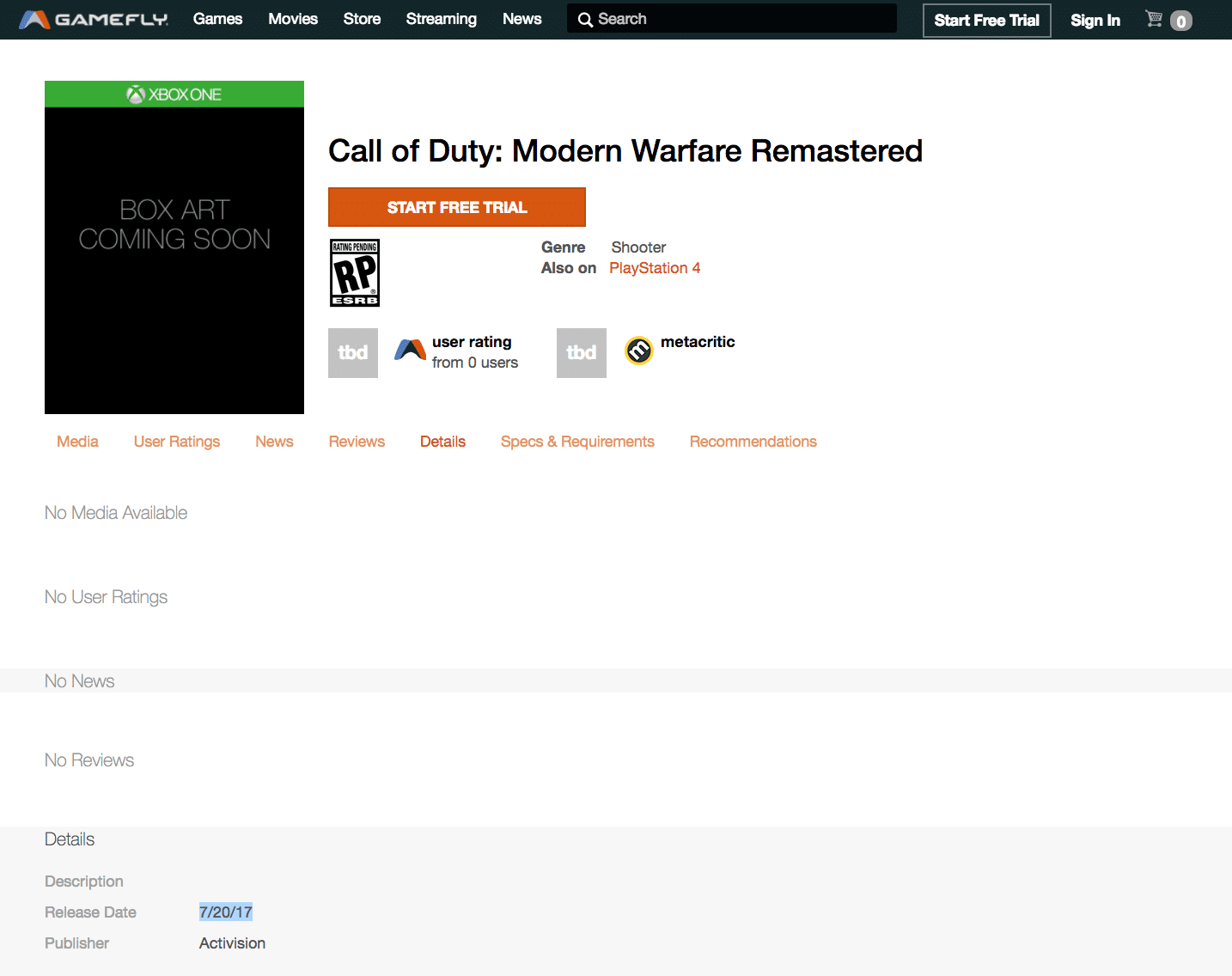Call of Duty: Modern Warfare Remastered Getting Standalone Release In June?