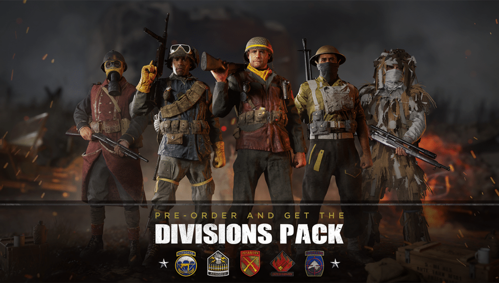 Preorder Call of Duty: WWII and get the new Divisions Pack ...