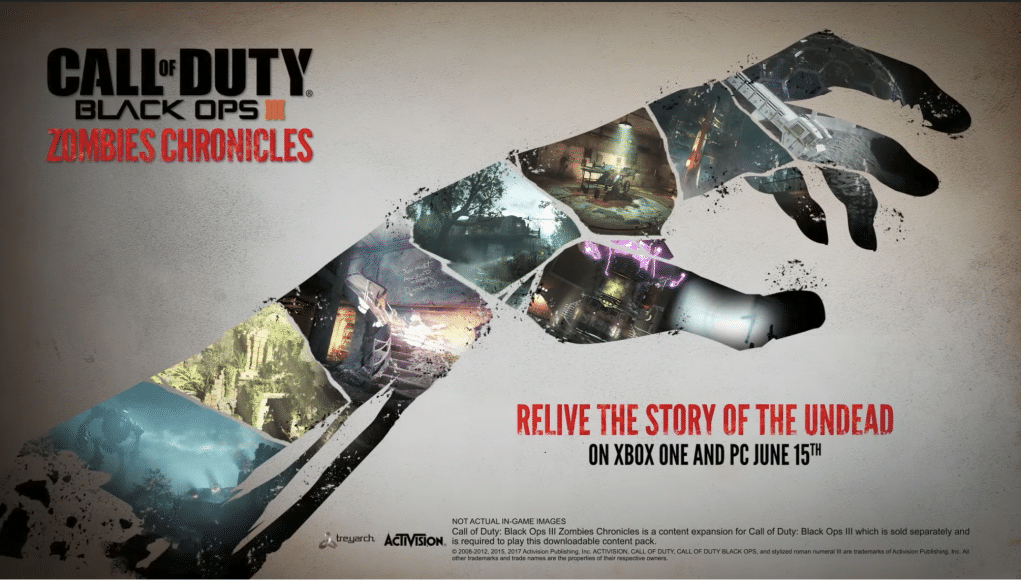 call of duty black ops 3 zombies chronicles edition xbox one