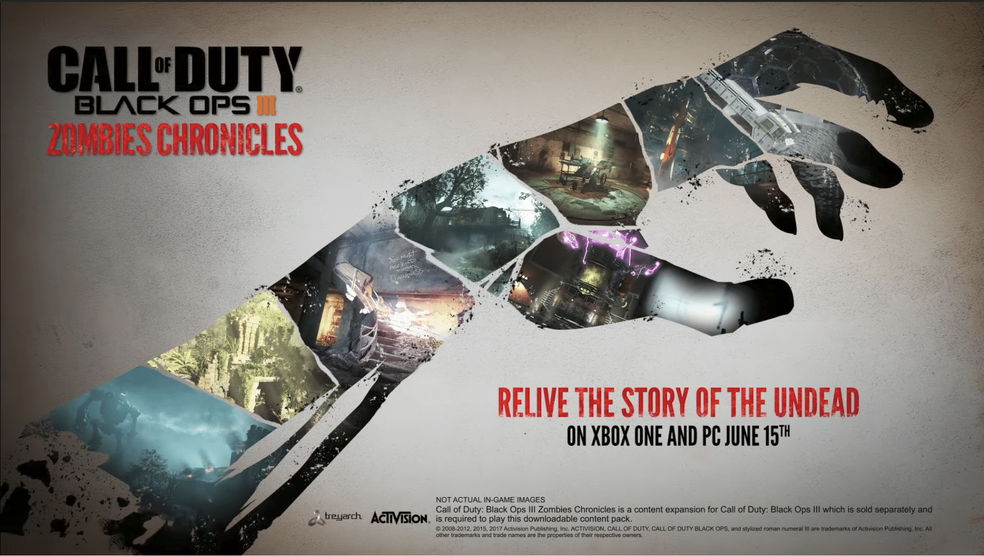 Call of Duty Black Ops 3 Zombies Chronicles available June 15 on
