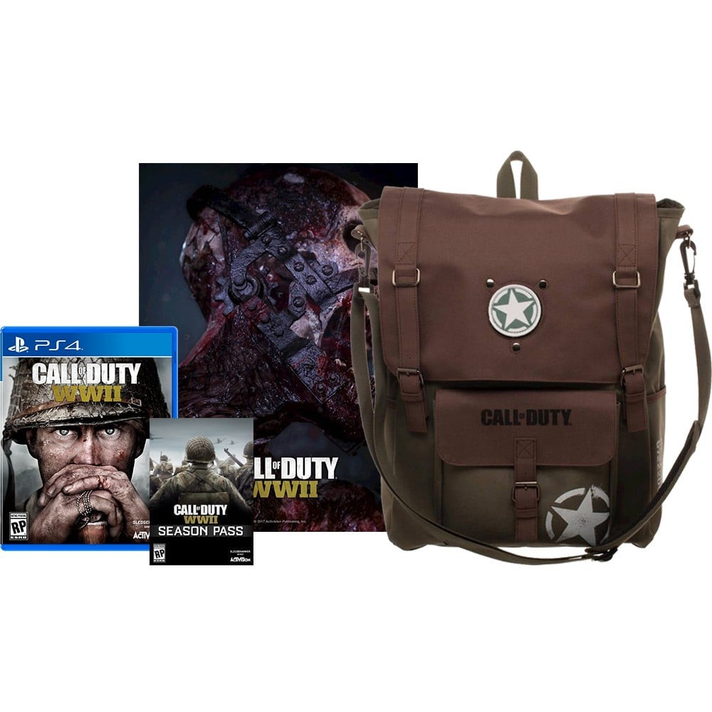 Call Of Duty: WWII Backpack + Poster Edition Available At