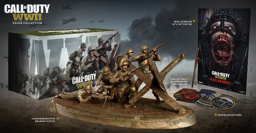 Call Of Duty Wwii Valor Collection Edition Revealed
