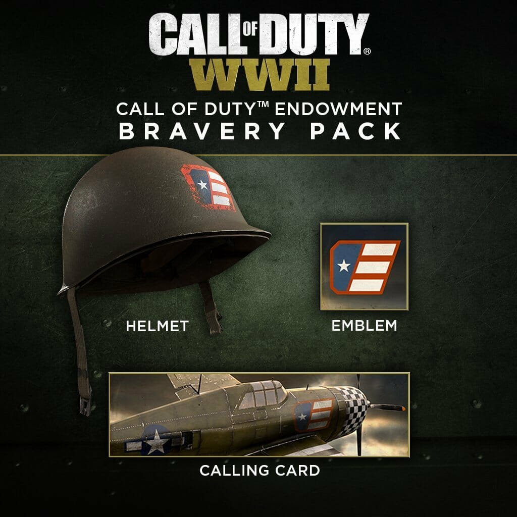call of duty endowment bravery pack now available in call