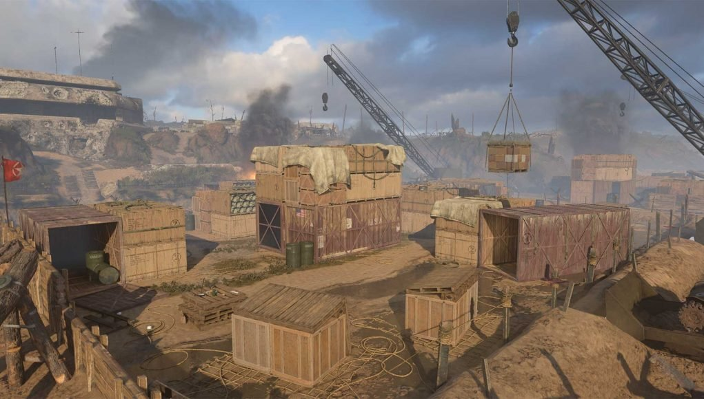 Shipment 1944 map available now for free for all Call of Duty: WWII on