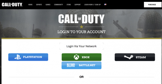 Call of Duty website now lets you link Blizzard Battle Net account