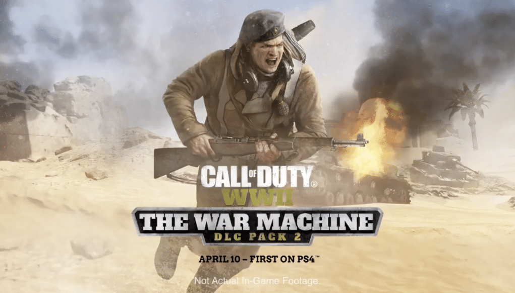 Call of Duty: WWII The War Machine DLC Pack 2 available April 10 on
