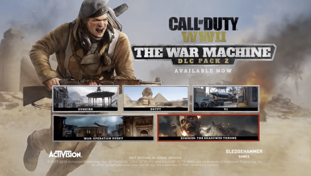 dlc ps4 to cod 2 ww2 how download
