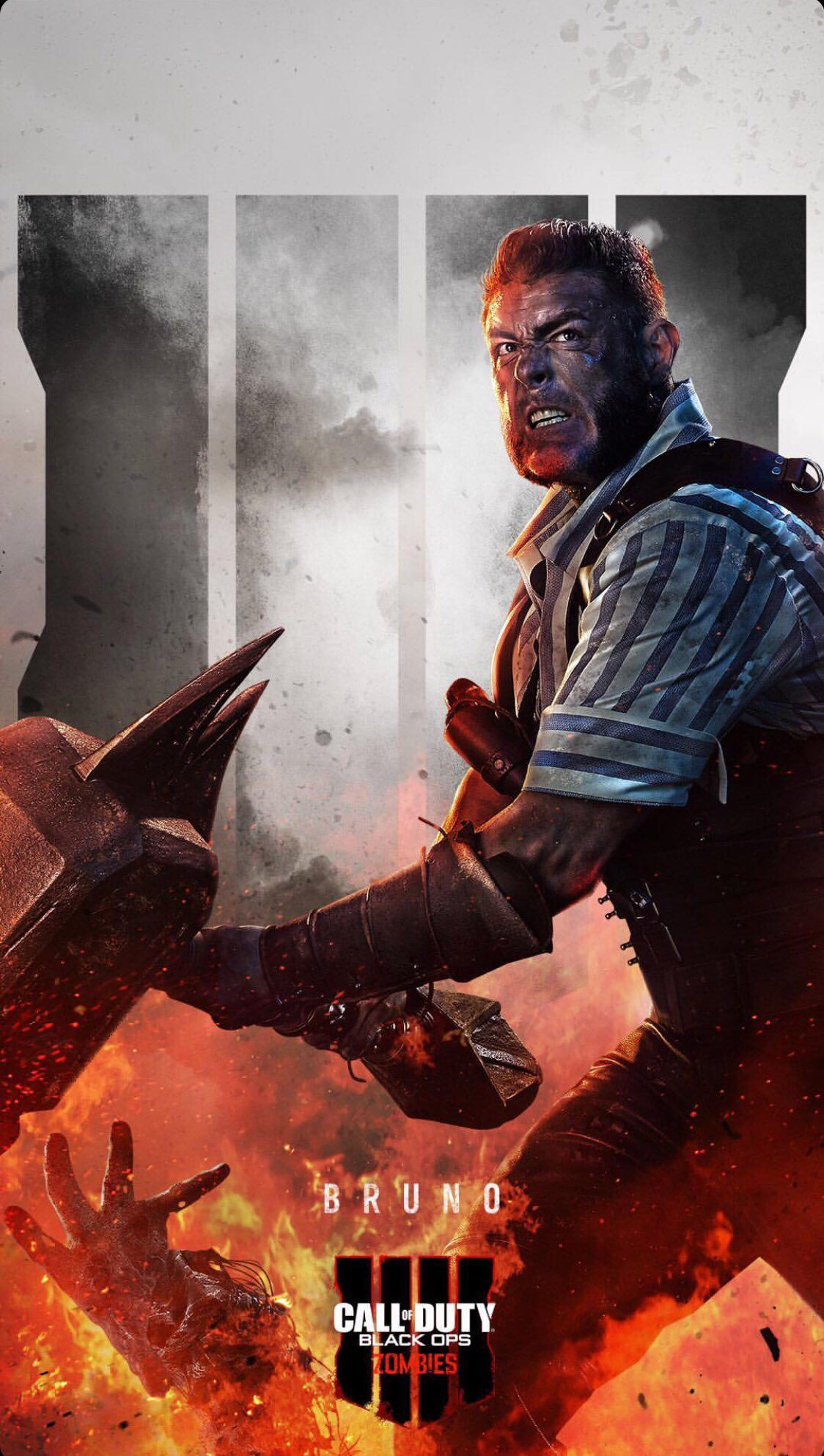 Call Of Duty On Instagram Has Shared New Phone Wallpapers For Black Ops 4 Zombies And The Cast Characters