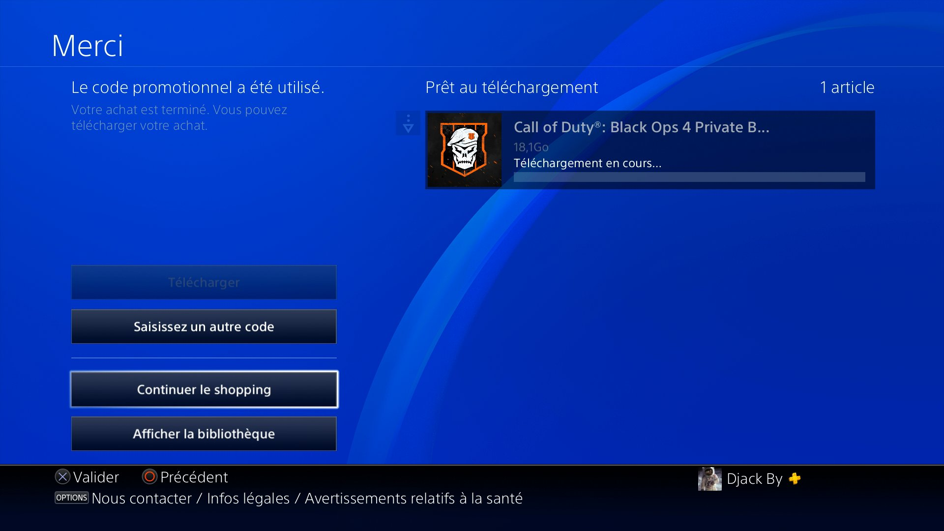 call of duty black ops 4 ps4 digital download size