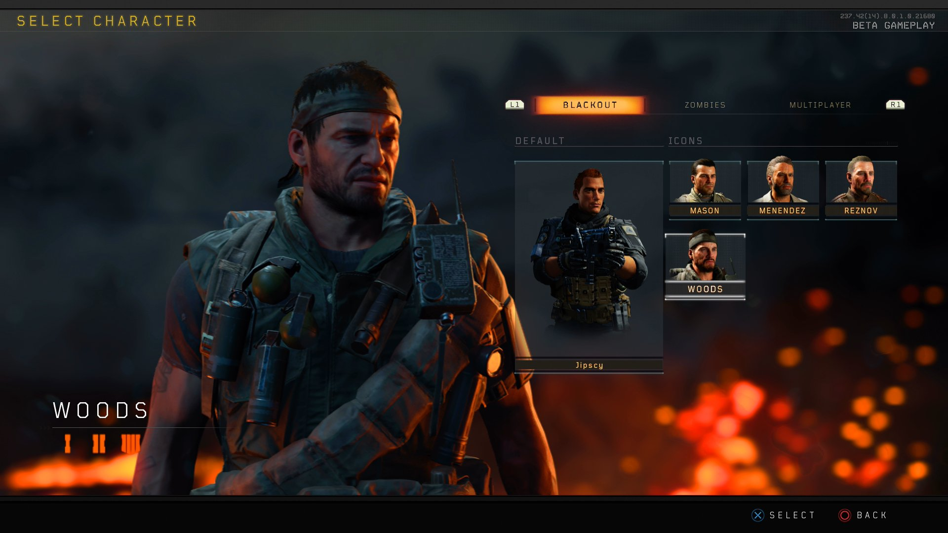 Patch Update 1 08 for the Black Ops 4 Blackout Beta live on PS4