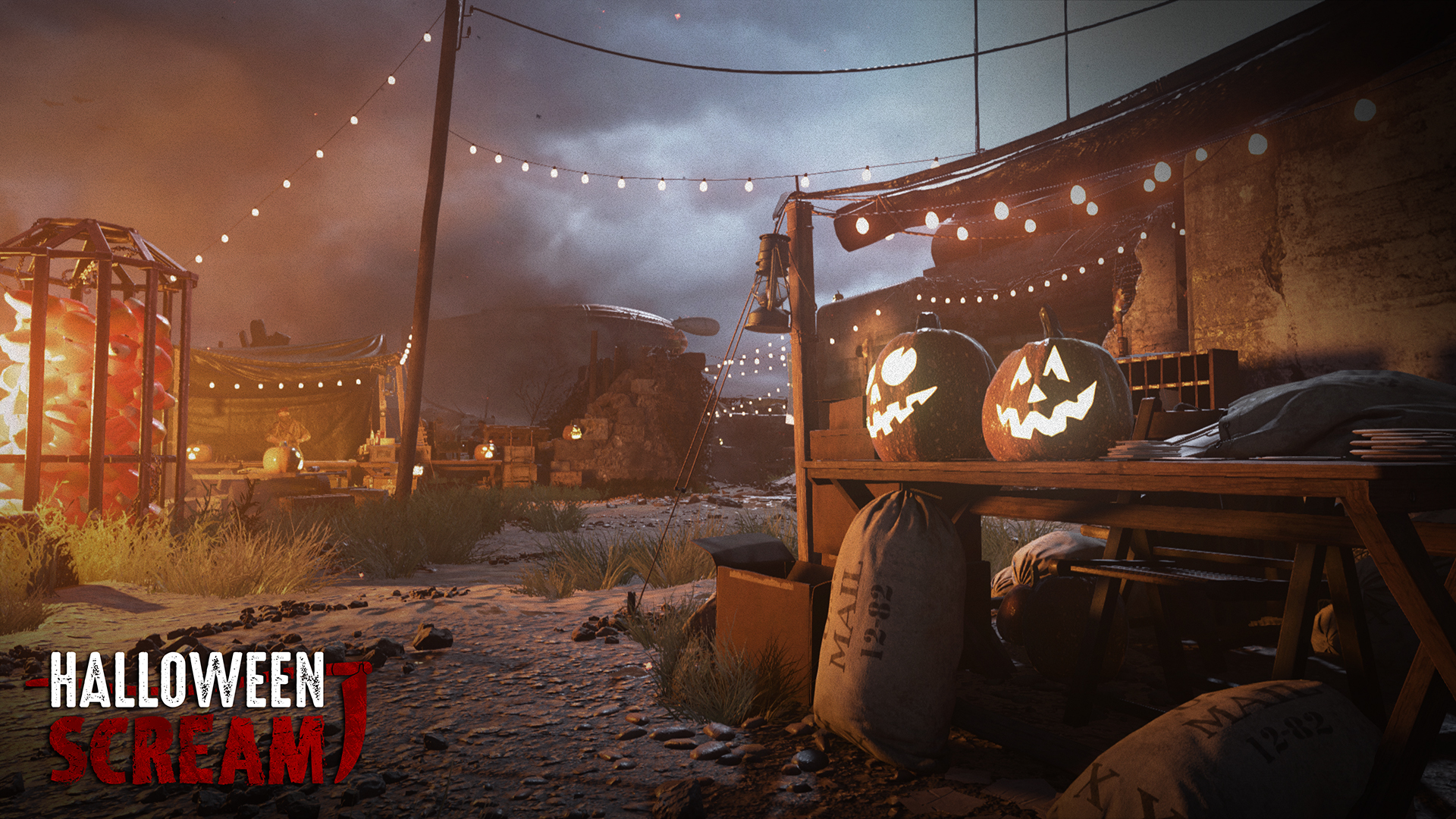 shgames teases new halloween scream event for call of duty: wwii