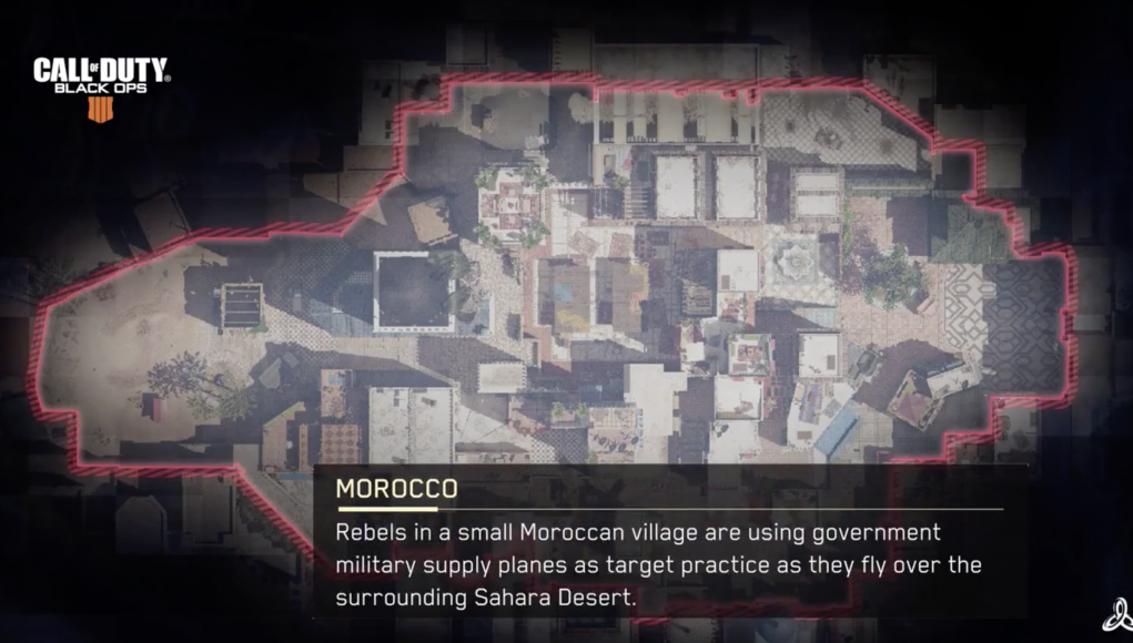 What domination in morocco necessary words