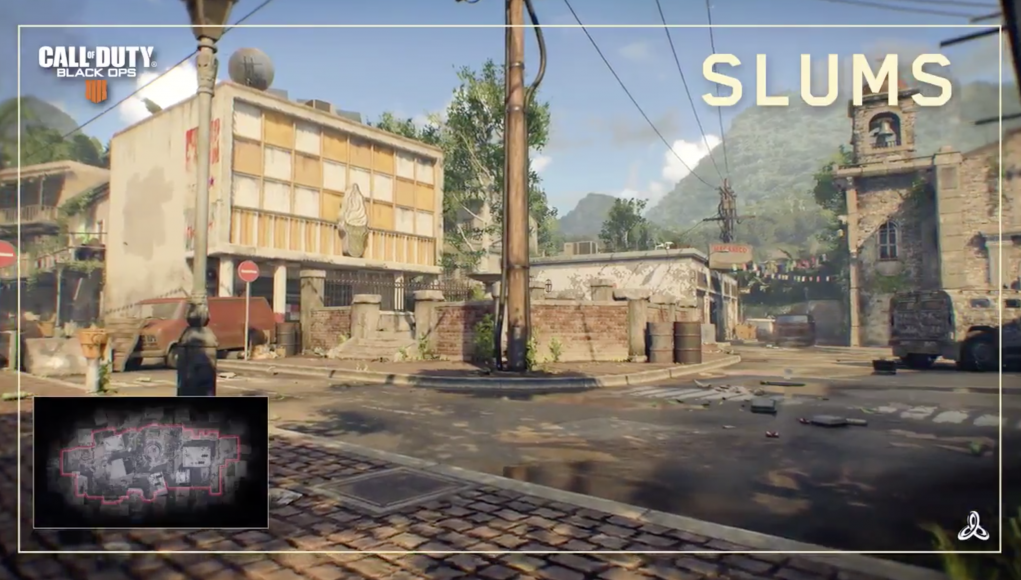 New video shows Slums MP Map in Call of Duty: Black Ops 4 ... on call of the dead map, call duty 4 maps, bf3 maps, batman: arkham city, call of duty 3, halo maps, gears of war, black ops 2 maps, call of duty: black ops ii, medal of honor maps, assassin's creed iii maps, ghost recon maps, medal of honor, call of duty 2, lords of the fallen maps, condemned criminal origins maps, call of duty: finest hour, company of heroes maps, call of duty: world at war, call of duty 4: modern warfare, halo: reach, call of duty: roads to victory, call of duty: modern warfare 2, black ops 1 maps, war commander maps, grand theft auto, call of duty: modern warfare 3, assassin's creed unity maps, red dead redemption, modern warfare 3 maps, modern warfare 2 maps,