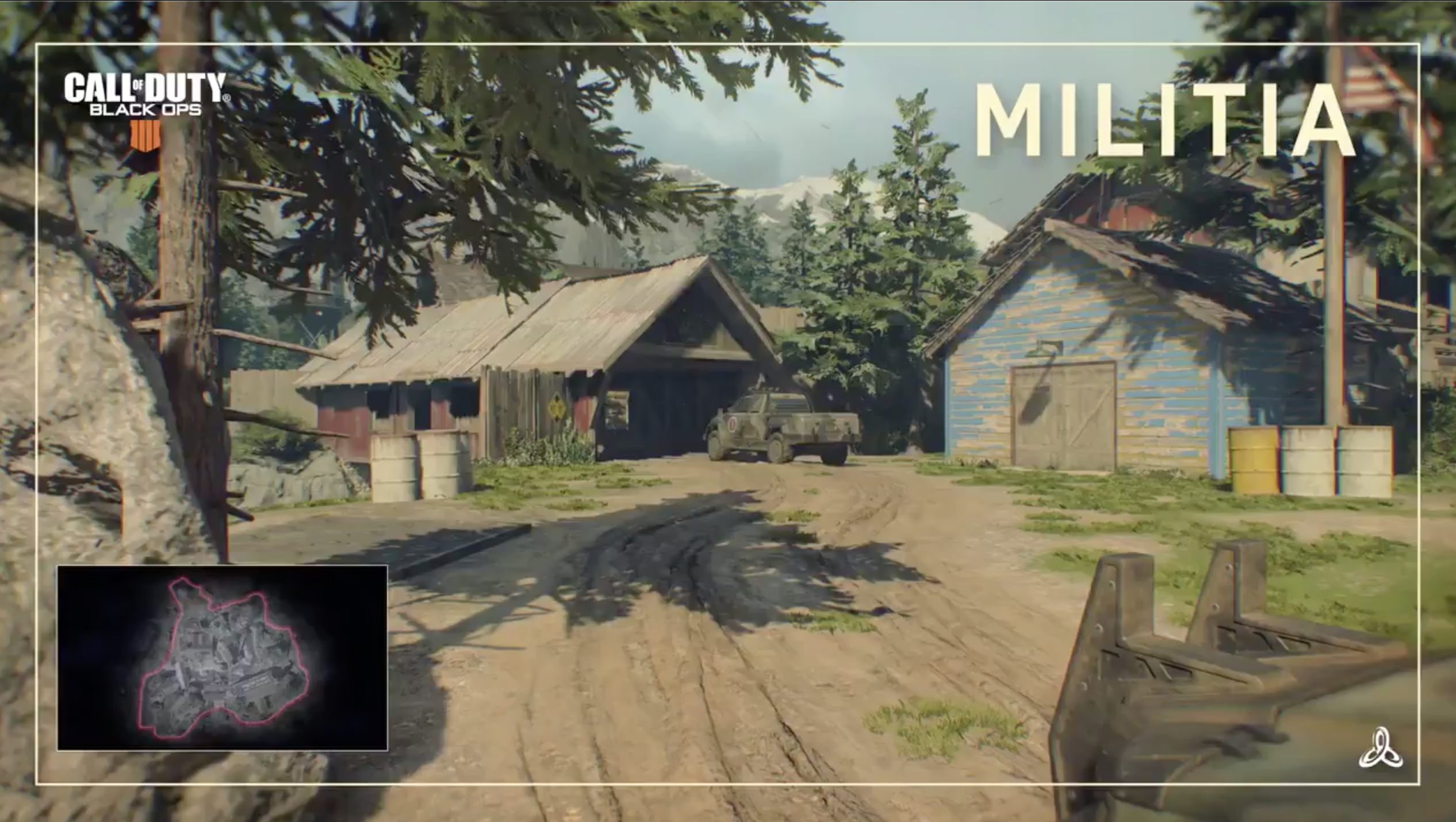 New Video Reveals Militia Mp Map In Call Of Duty Black Ops 4