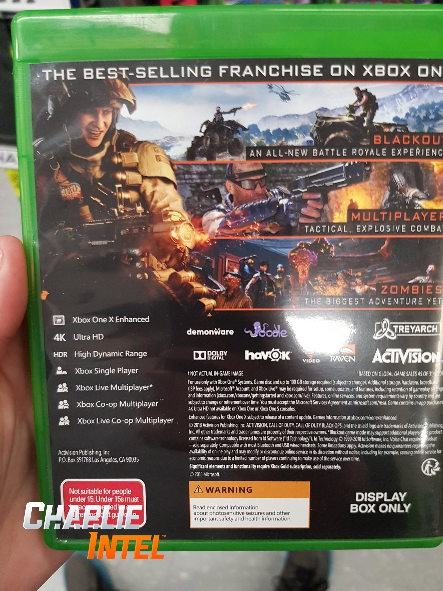 Back Cover Of Black Ops 4 Box Art Revealed Says 100gb Space Required Resetera