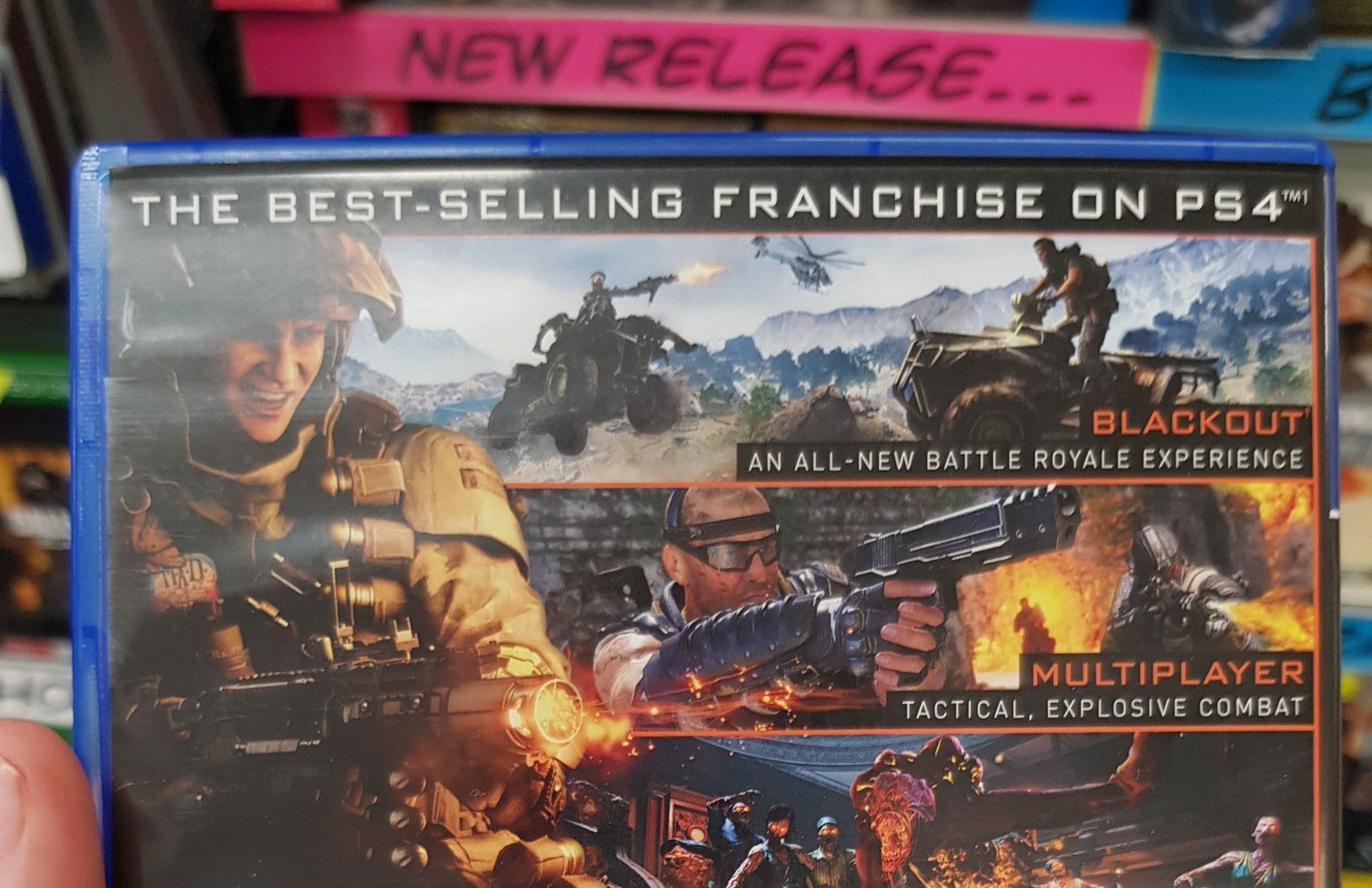Back Cover Of Black Ops 4 Box Art Revealed Says 100gb Space Required Charlie Intel