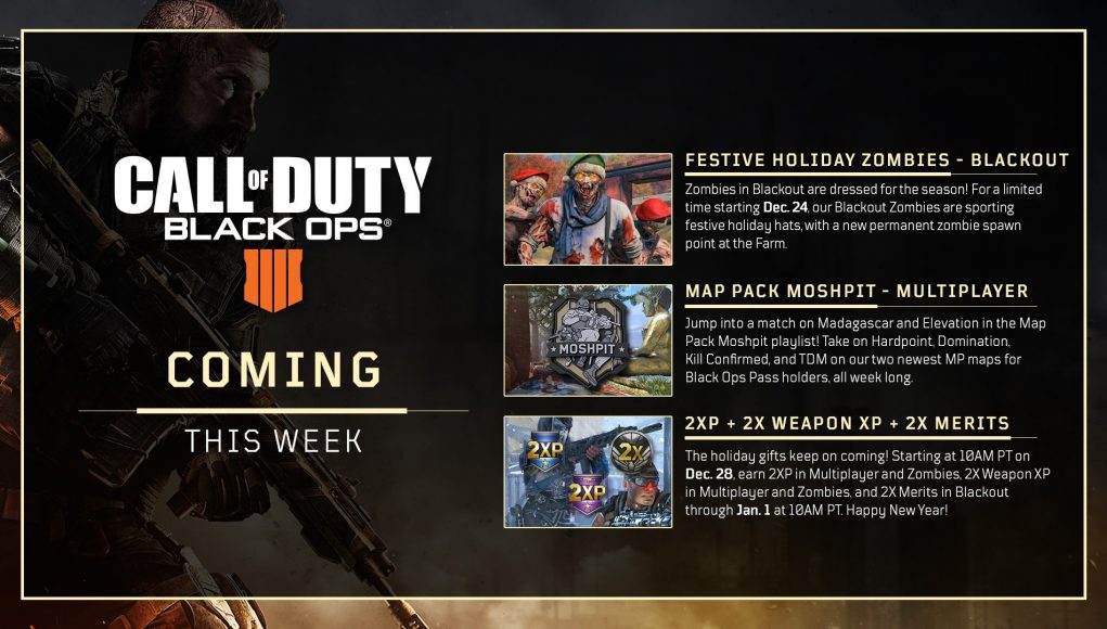 Coming this week: Holiday Surprise in Call of Duty: Black ... on call of duty: black ops ii, call of duty: world at war, call of duty game maps, call of duty 3, call of duty elite, call of duty 2, call of duty zombies minecraft server, call of duty wallpaper, call of duty zombies movie, call of duty ghosts world map, call of duty president, call of duty modern warfare 3, small call of duty maps, call of duty mw maps, gears of war, red dead redemption, call of duty: modern warfare 3, call of duty zombie hospital, call of duty zombies anime, call of duty ghosts zombies, call of duty zombies map packs, call of duty modern warfare 2, call of duty ghosts extinction maps, medal of honor, grand theft auto, call of duty zombies all characters, call duty black ops 2 zombies buried, batman: arkham city, cod bo1 zombies maps, halo: reach, call of duty: modern warfare 2, call of duty 4: modern warfare, call of duty nacht der untoten map,