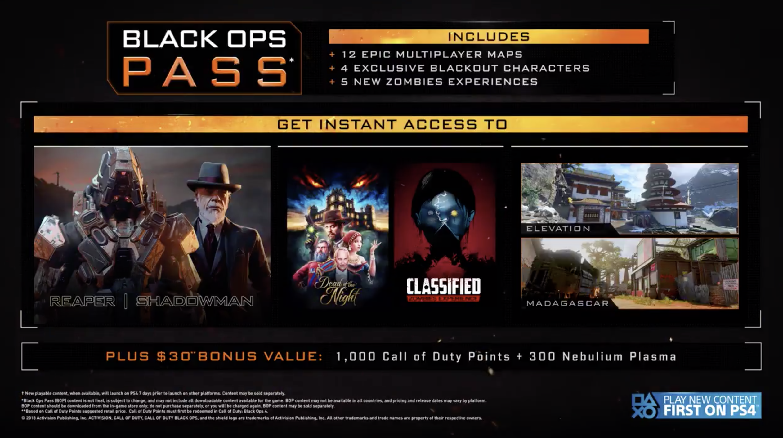 Call Of Duty Black Ops 4 First Black Ops Pass Content Drop