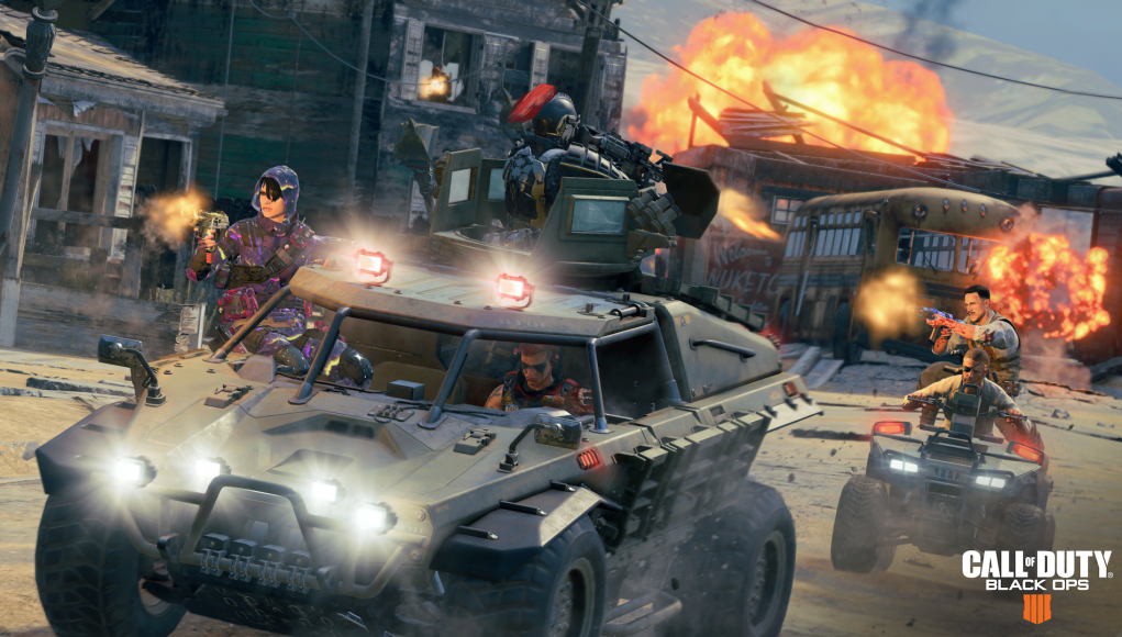 Intense New 'Call of Duty: Black Ops 4' Blackout Game Mode Leaks