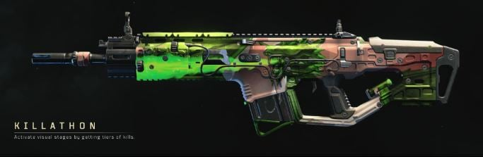 Complete list of every reactive camo currently available in