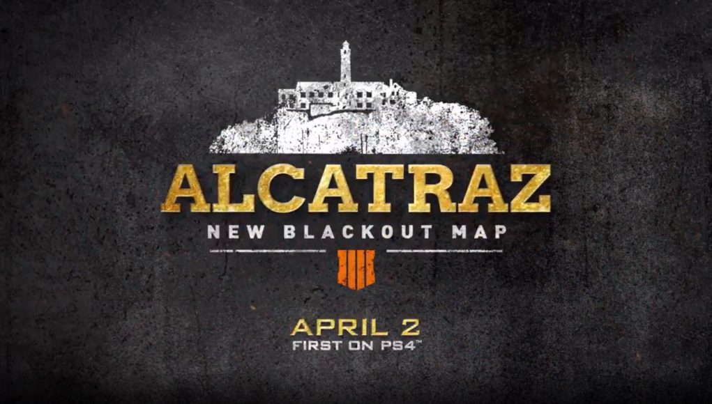 Blackout announces Alcatraz map, going free to play throughout April