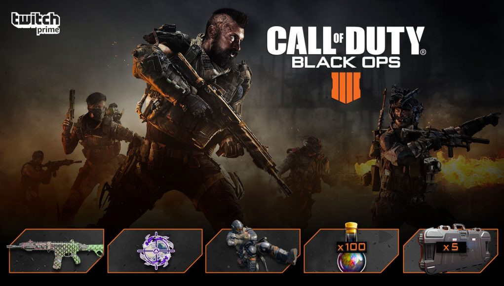 How to get the June Twitch Prime Loot Bundle for Call of Duty: Black