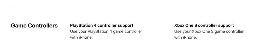 iOS 13 will bring support for Xbox One and PS4 controllers