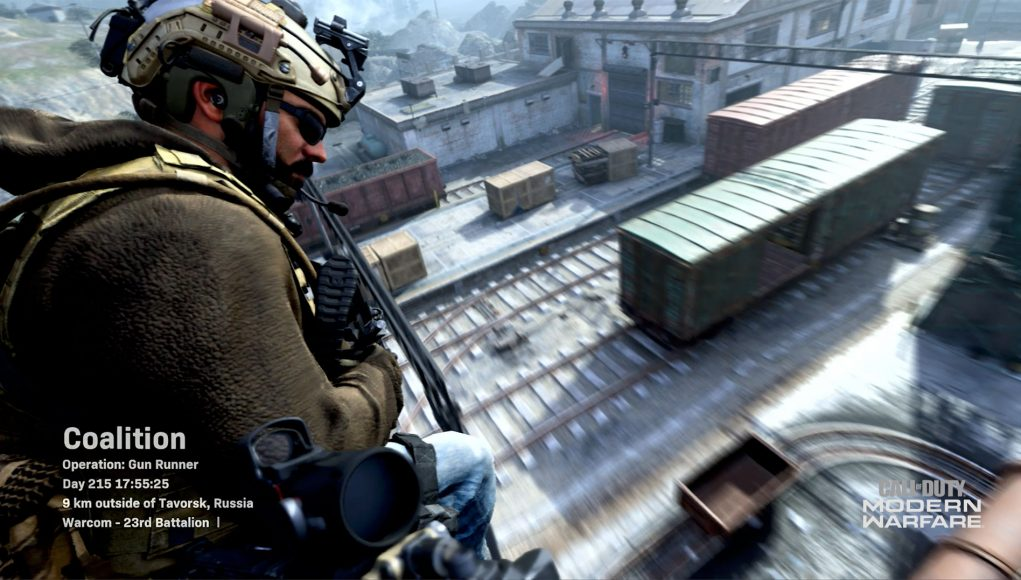 Call of Duty: Modern Warfare Multiplayer Intro Showcased on New Gunrunner Map