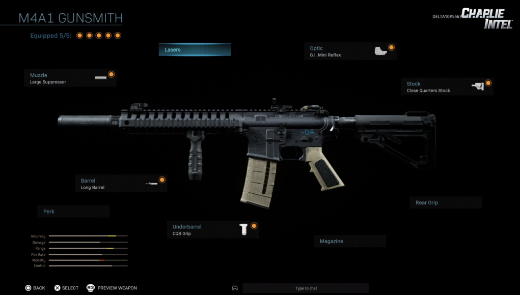Call Of Duty Modern Warfare Introduces The Gunsmith Weapon