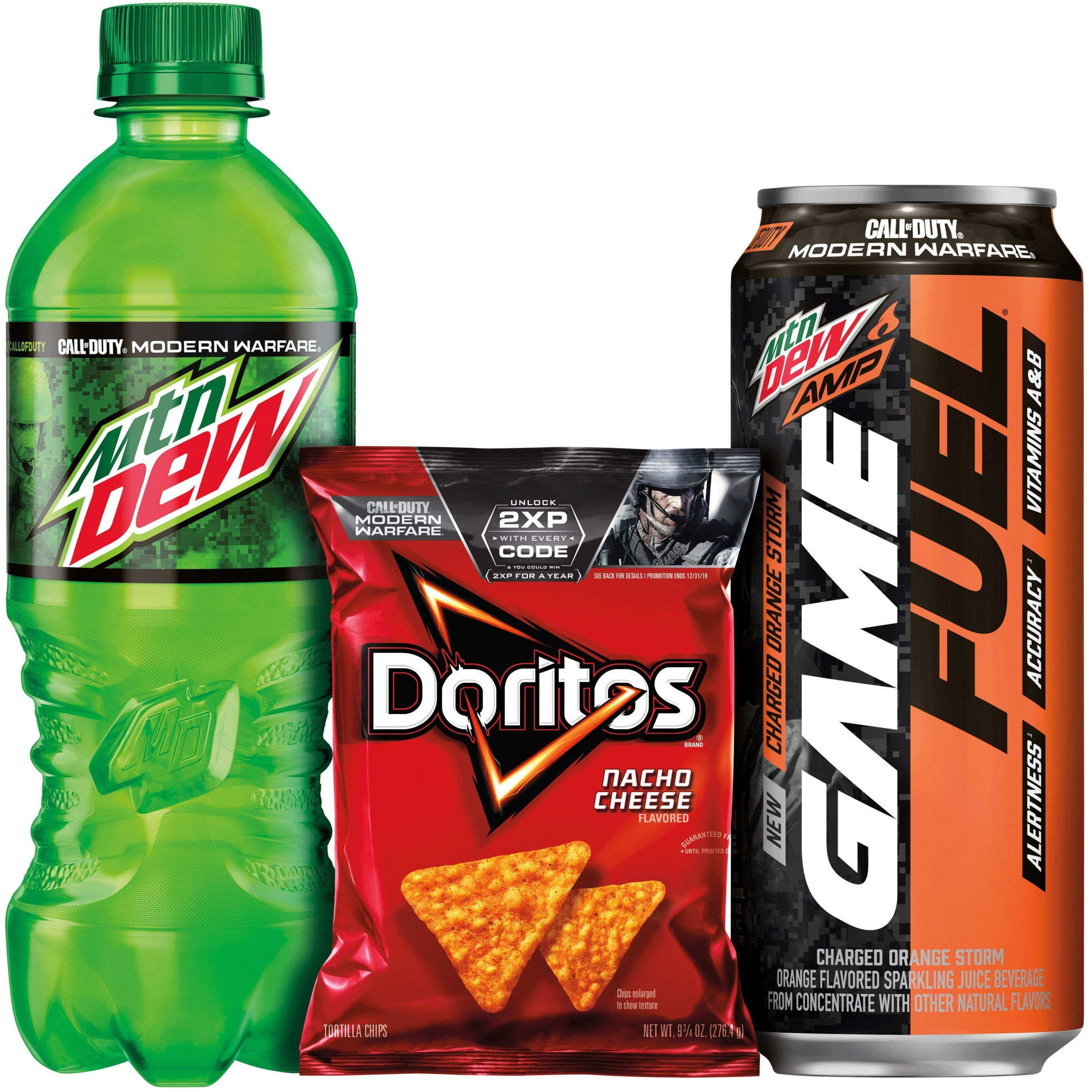 Mountain Dew And Doritos Partner With Activision For Call Of Duty