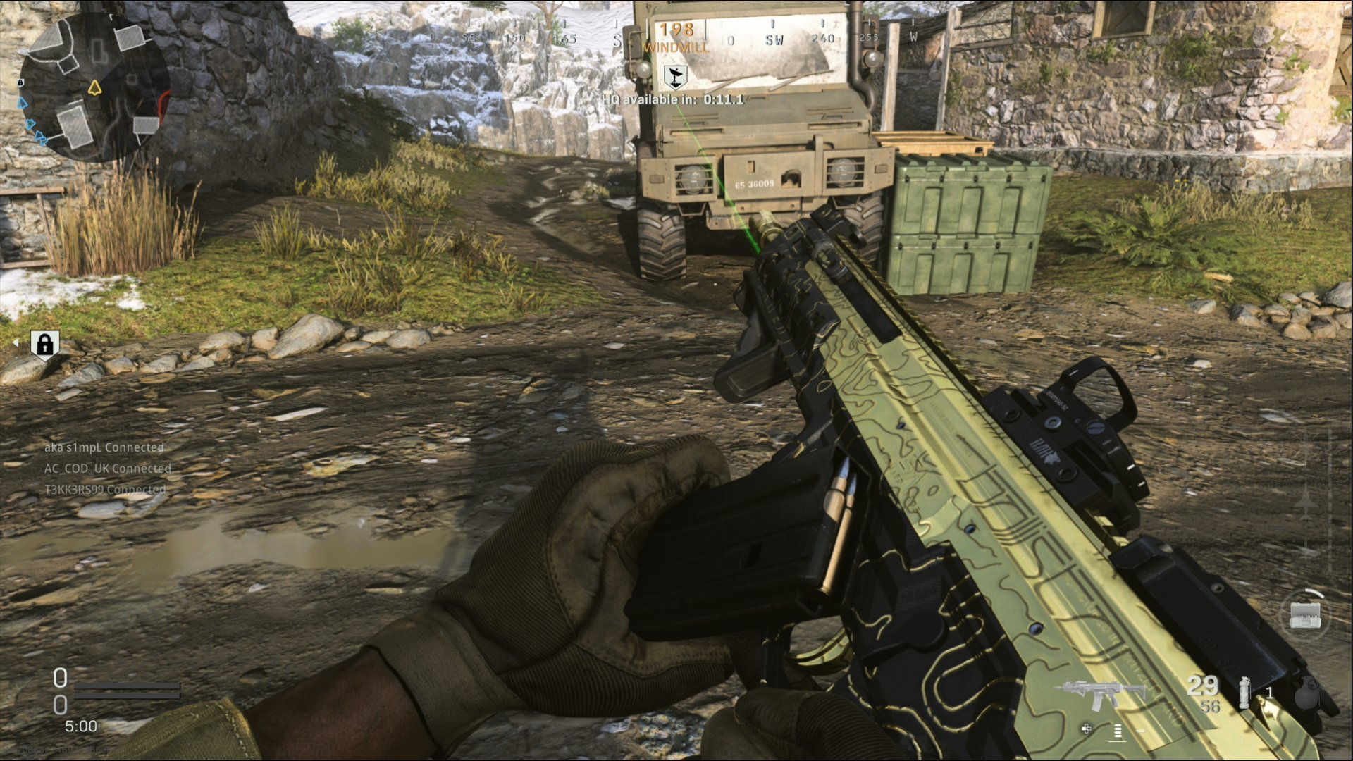 First Look At Gold And Damascus Camos In Call Of Duty Modern Warfare Charlie Intel