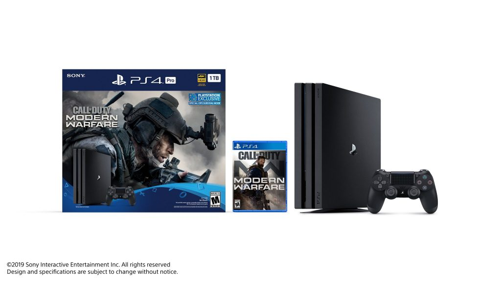 Call of Duty: Modern Warfare PlayStation 4 Pro bundle revealed