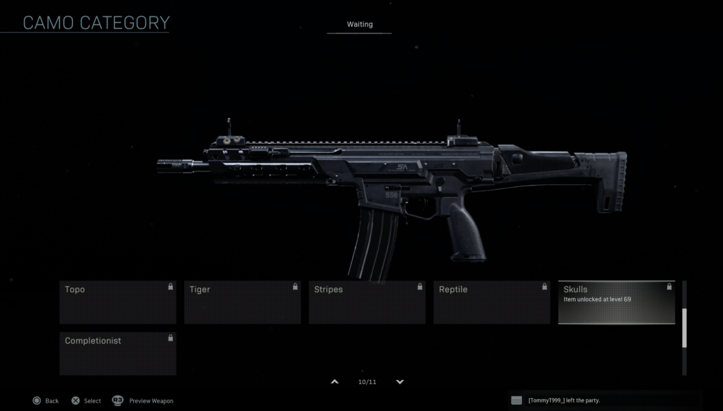 Weapons In Call Of Duty Modern Warfare Have A Lot Of Levels