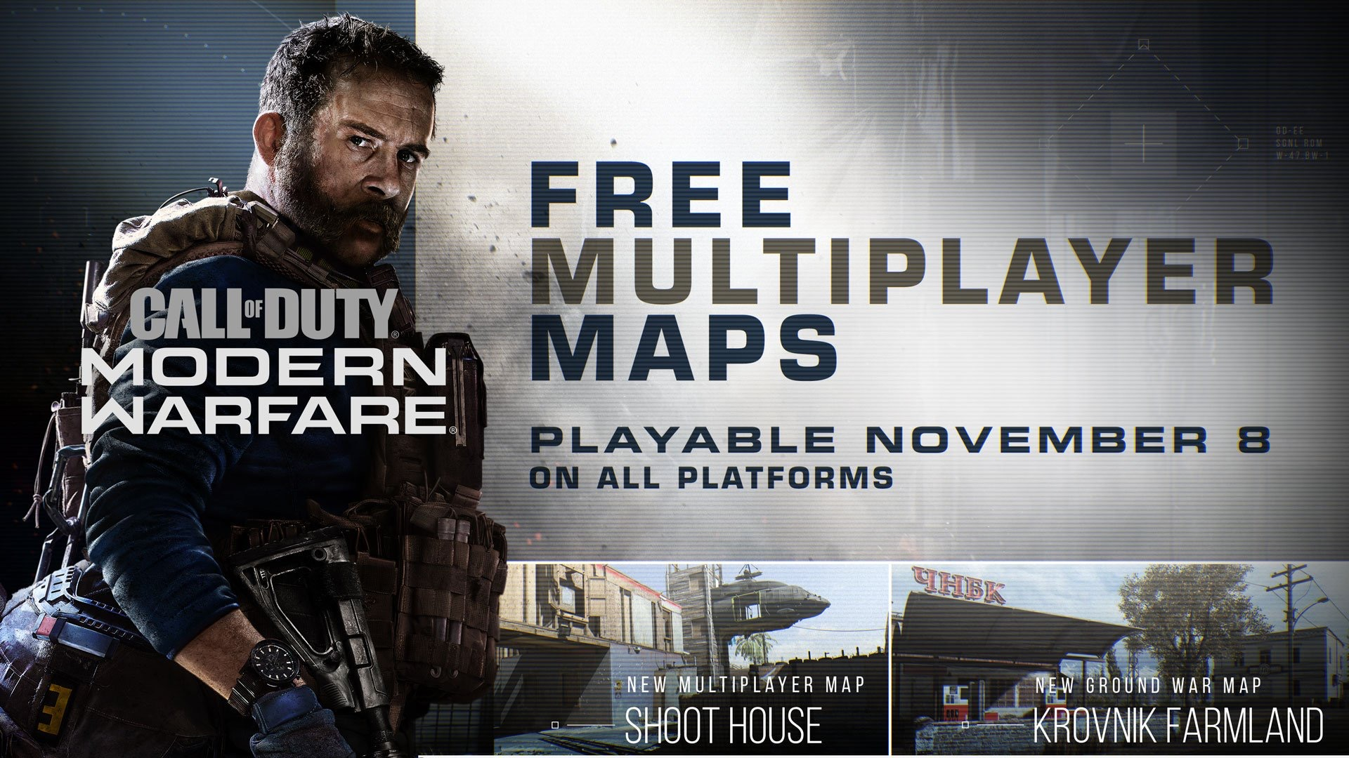 Call of Duty: Modern Warfare - three multiplayer maps dropping tomorrow