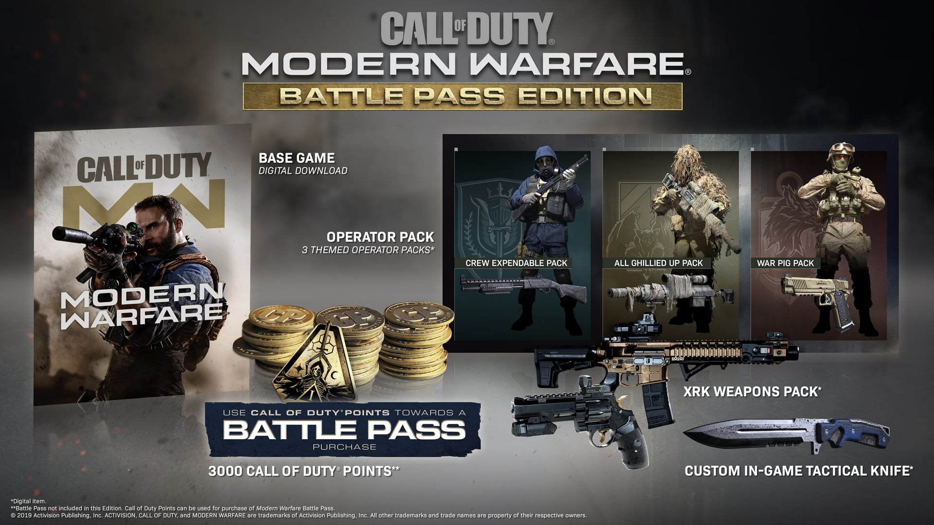 Call Of Duty Modern Warfare Battle Pass Edition Available Now Charlie Intel
