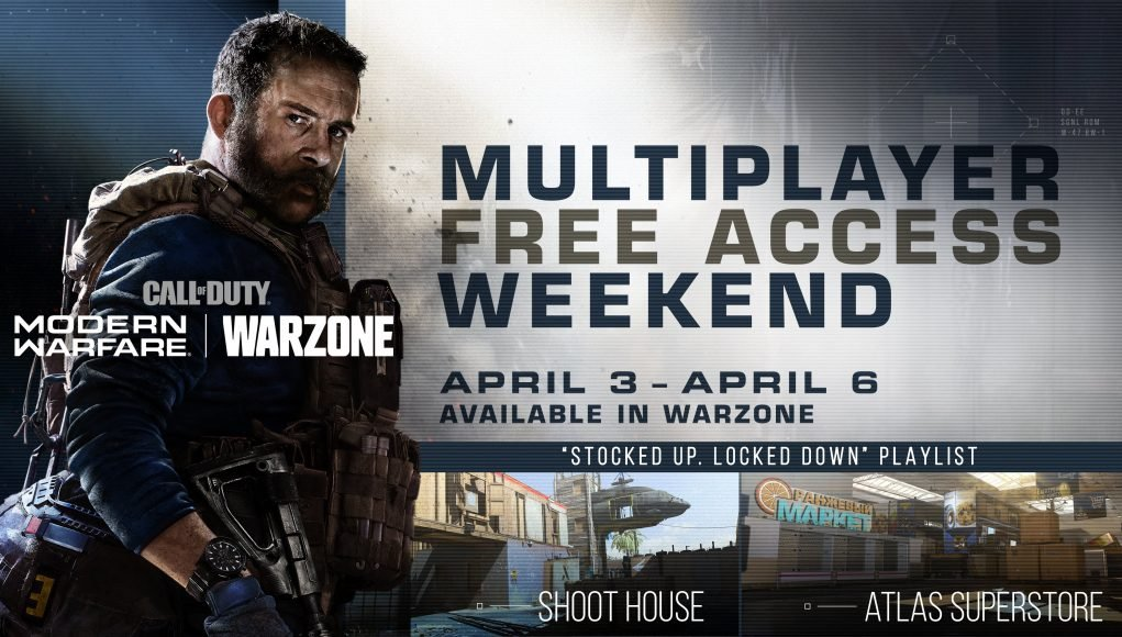 Play Call of Duty: Modern Warfare Multiplayer for Free This Weekend