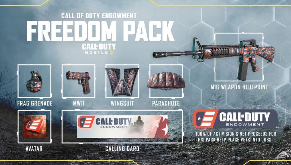 New Call Of Duty Endowment Pack Available In Cod Mobile Charlie