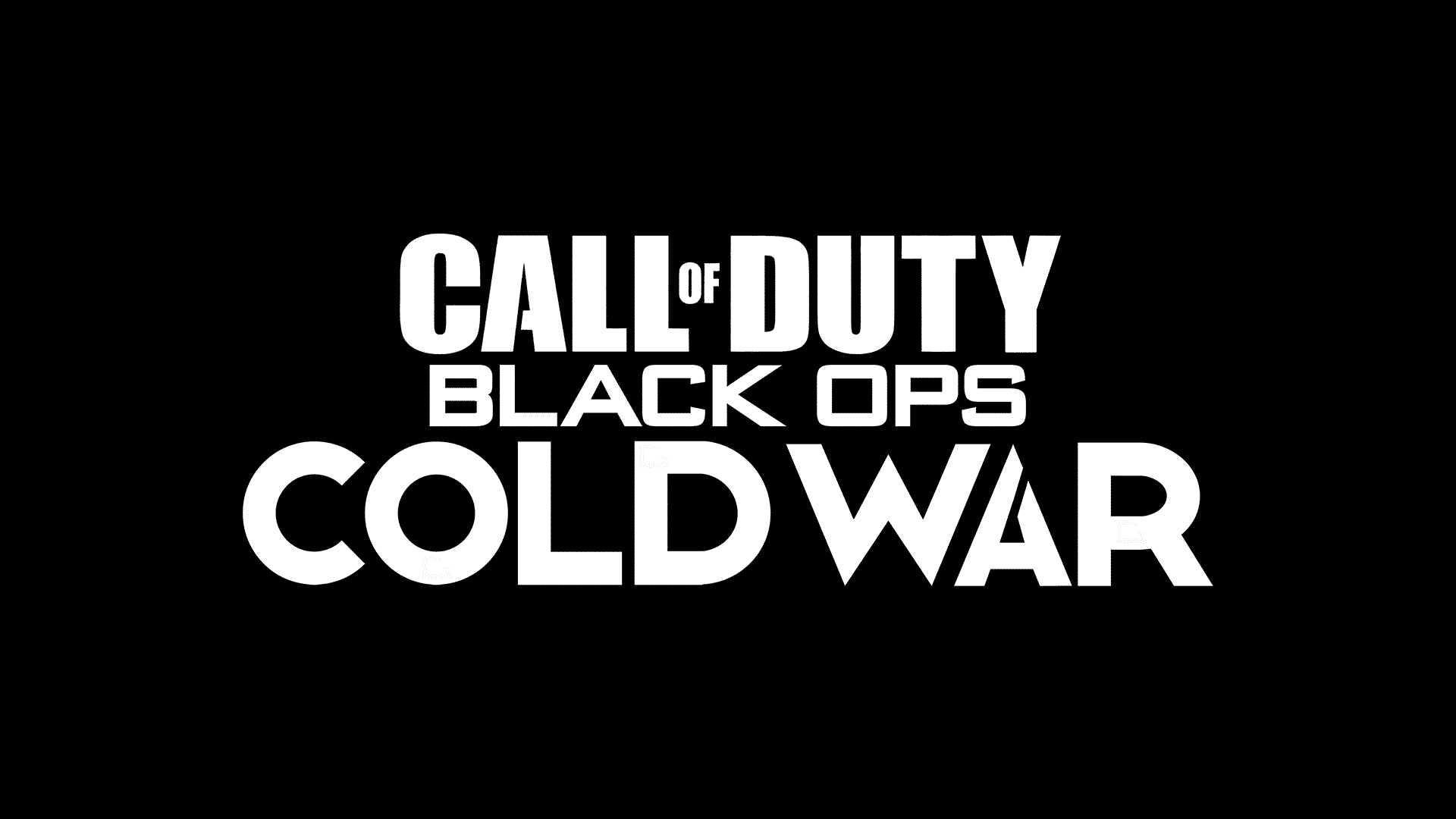Call Of Duty Black Ops Cold War Logo Leaked Charlie Intel