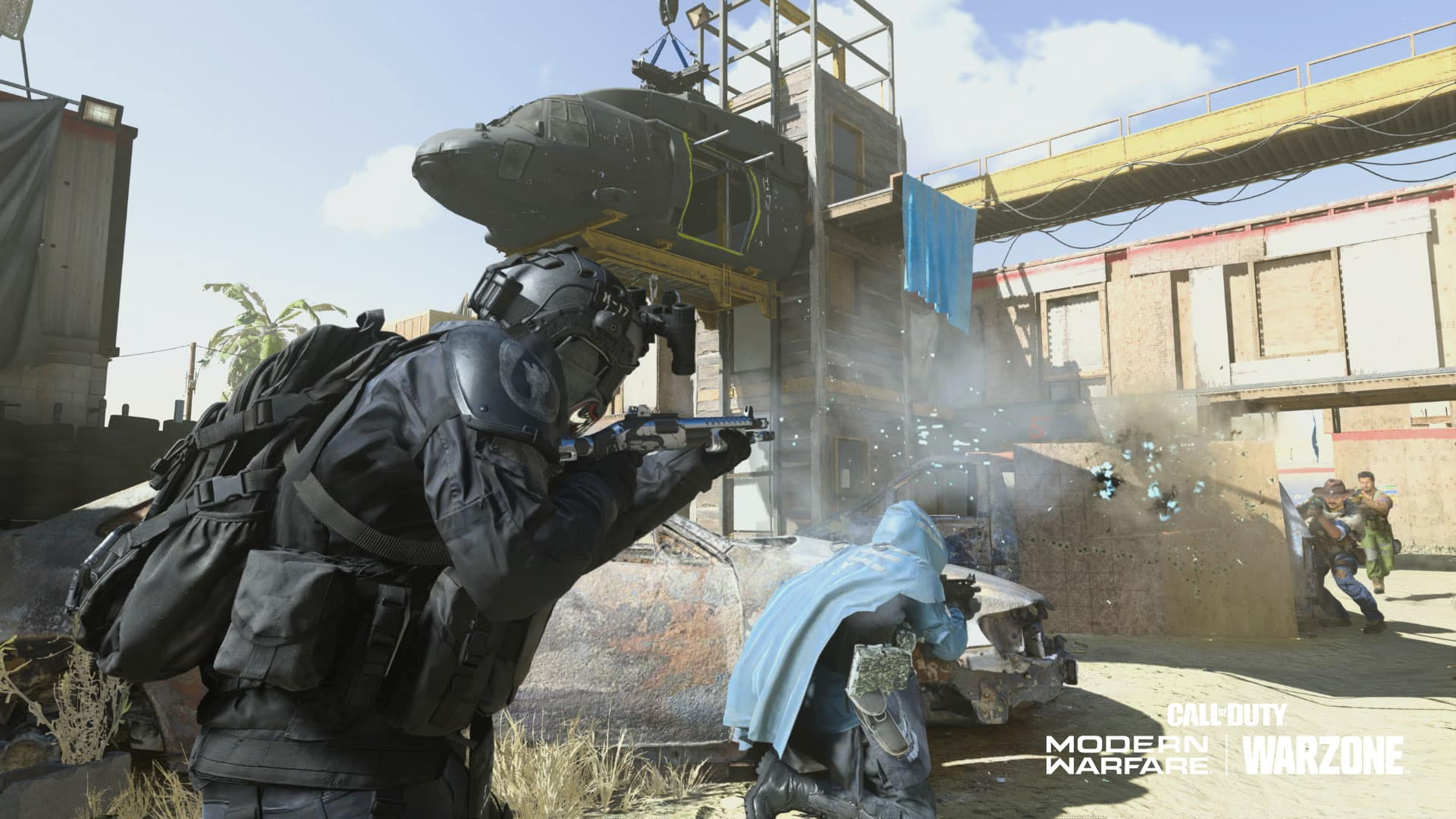 cod modern warfare shoot house gameplay