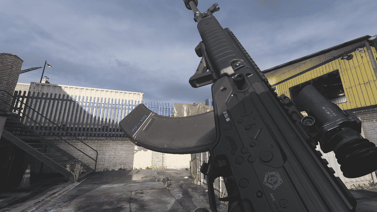 Modern Warfare AMAX in-game