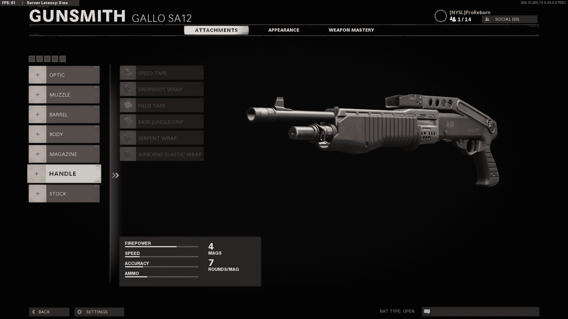 Best Gallo SA12 Loadout