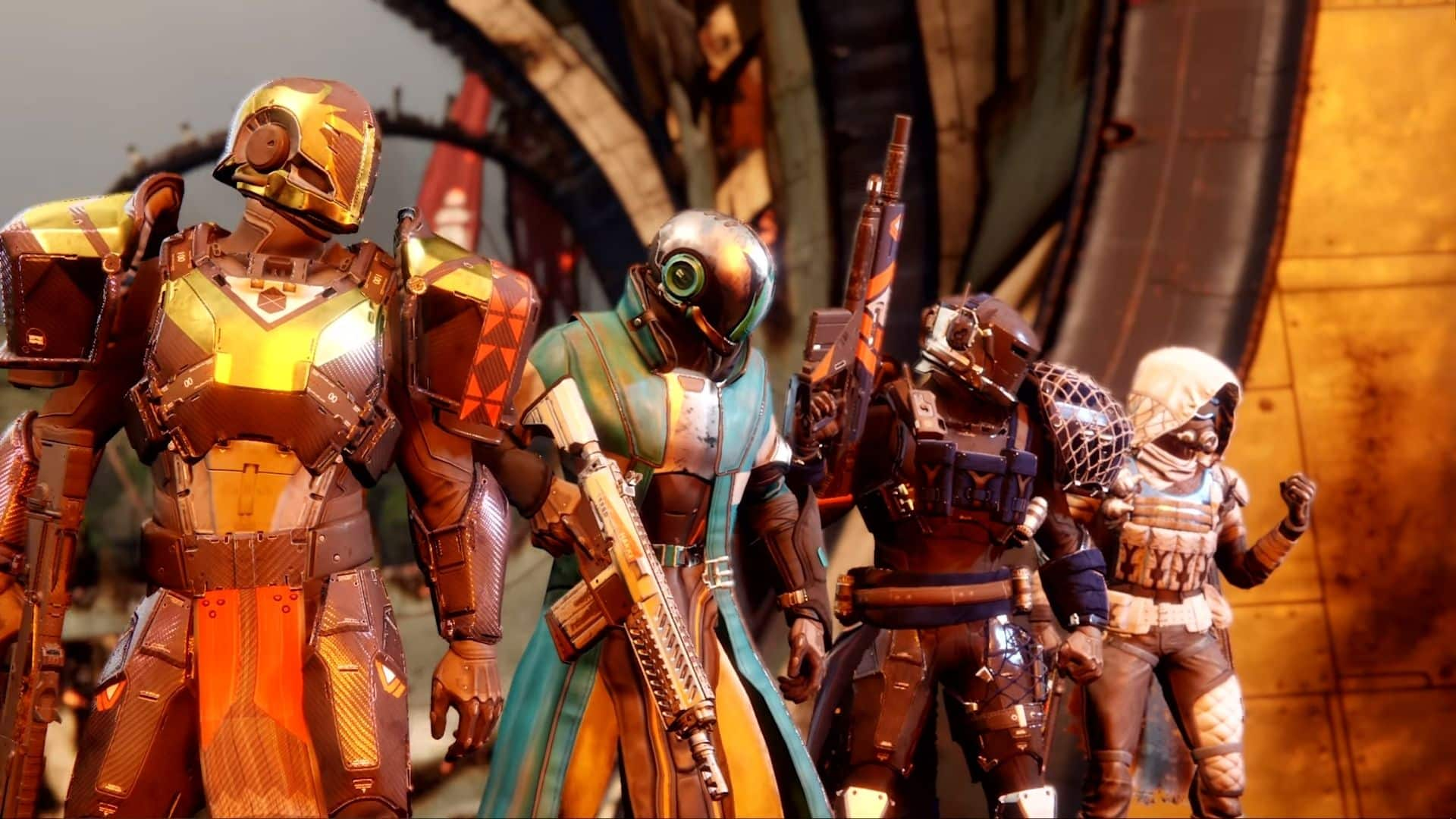 a team of guardians in destiny 2