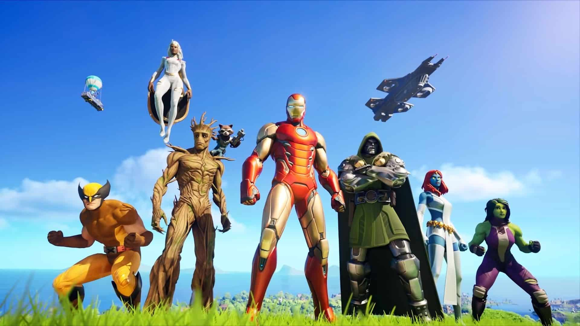 superheroes in fortnite chapter 2 season 4