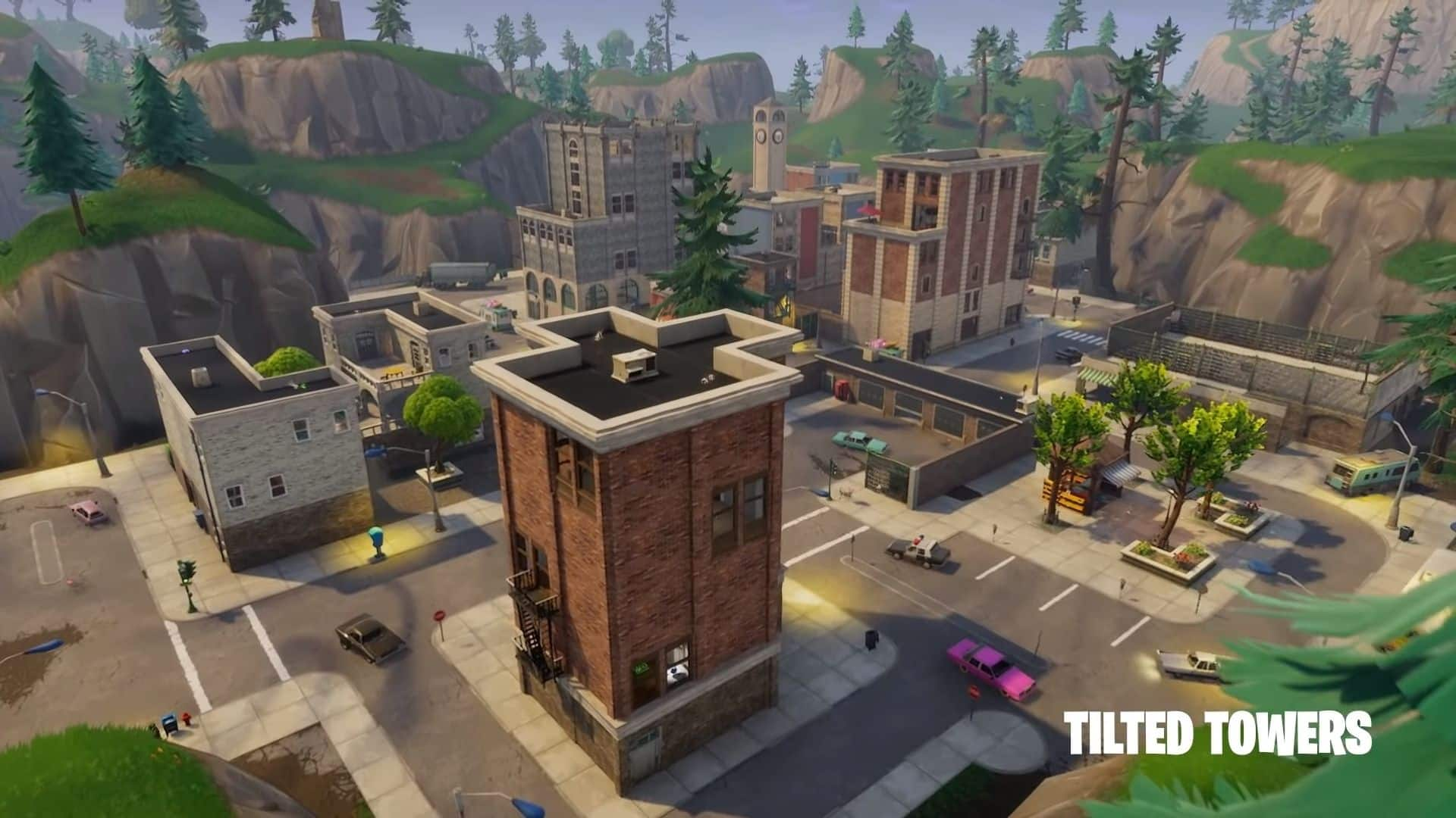 tilted towers in fortnite
